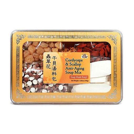 Cordyceps & Scallop Anti-Aging Soup Mix 虫草花干贝汤料包