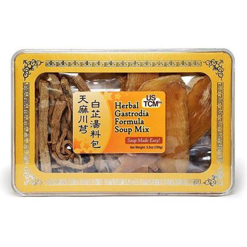 Herbal Gastrodia Formula Soup Mix 天麻川芎白芷湯料包